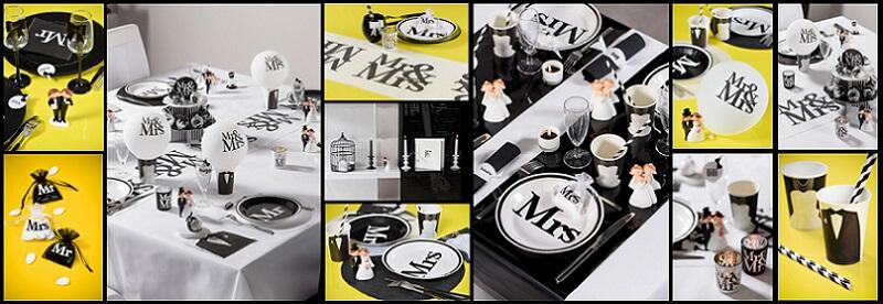 Decoration mariage mr et mrs