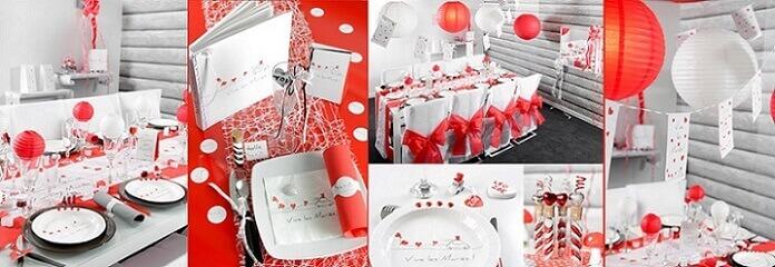 Decoration mariage vive les maries