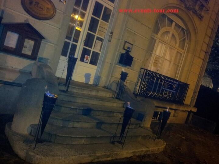 Décoration d'extérieur pour fête en Nord Pas-de-Calais.