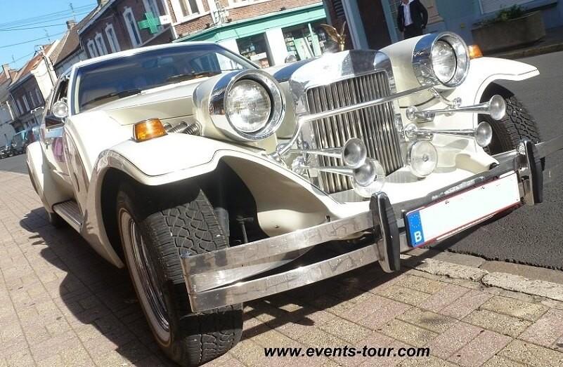 Voiture de prestige Rolls Royce.
