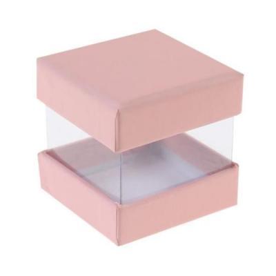 Boîte à dragée rose (x6) REF/3615