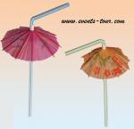 Paille avec mini parasol (x8) REF/62/0974