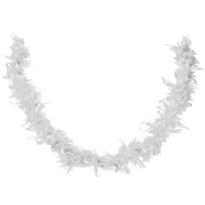 Accessoire de déguisement avec Boa blanc en plumes de 1.80m (x1) REF/21600