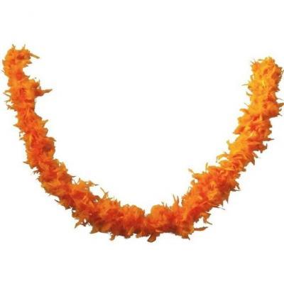 Accessoire de déguisement avec Boa orange en plumes de 1.80m (x1) REF/21605