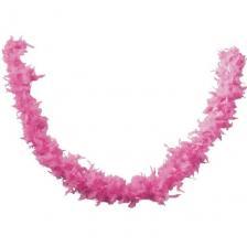 Accessoire de déguisement avec Boa rose en plumes de 1.80m (x1) REF/21603