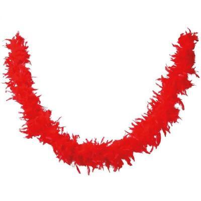 Accessoire de déguisement avec Boa rouge en plumes de 1.80m (x1) REF/21602