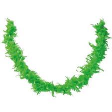 Accessoire de déguisement avec Boa vert en plumes de 1.80m (x1) REF/21607