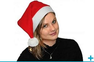 Accessoire de deguisement avec bonnet de fete noel adulte