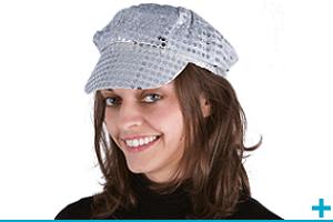 Accessoire de deguisement avec casquette beret et chapeau adulte