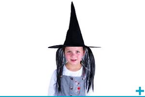 Accessoire de deguisement avec chapeau enfant fete halloween