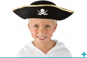 Accessoire de deguisement avec chapeau enfant