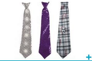 Accessoire de deguisement avec cravate