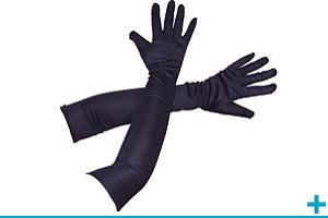 Accessoire de deguisement avec gant mitaine manche