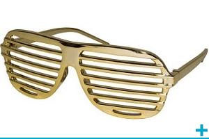 Accessoire de deguisement avec lunette
