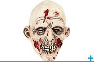 Accessoire de deguisement avec masque et loup adulte halloween