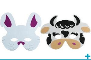 Accessoire de deguisement carnaval avec theme animal