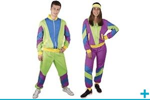 Accessoire de deguisement carnaval avec theme annee 80 et disco
