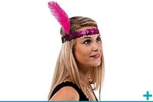 Accessoire de deguisement carnaval avec theme cabaret et charleston