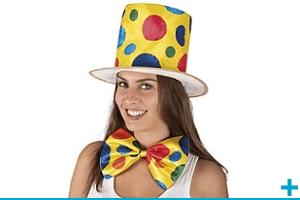 Accessoire de deguisement carnaval avec theme cirque et clown