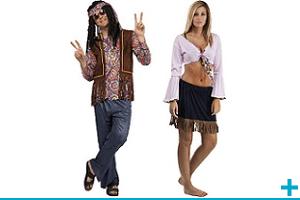 Accessoire de deguisement carnaval avec theme hippie