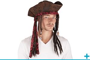 Accessoire de deguisement carnaval avec theme pirate