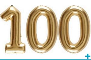 Anniversaire avec classement par age 100 ans