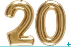 Anniversaire avec classement par age 20 ans