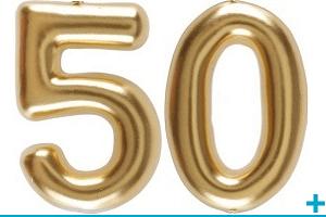 Anniversaire avec classement par age 50 ans