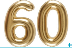 Anniversaire avec classement par age 60 ans