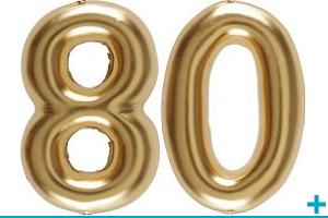 Anniversaire avec classement par age 80 ans
