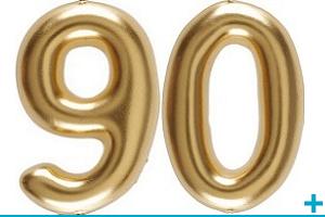 Anniversaire avec classement par age 90 ans
