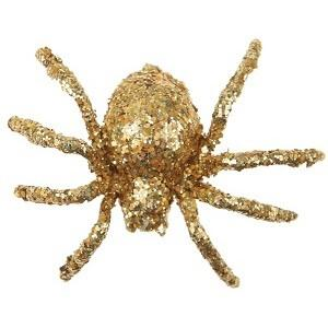 Araignée pailletée or (x6) REF/4152