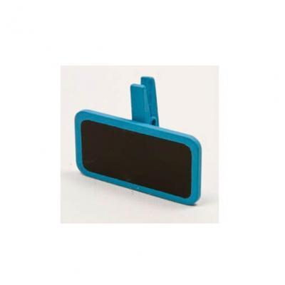 Ardoise sur pince bleu turquoise (x6) REF/MT951