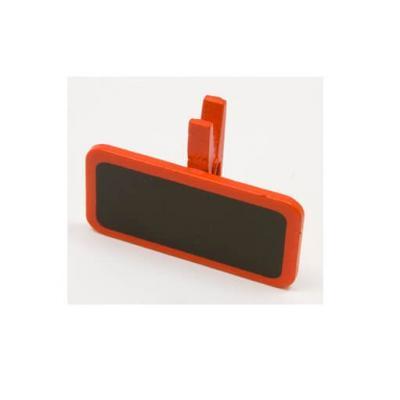 Ardoise sur pince rouge (x6) REF/MT951