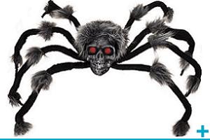 Article de fete et decoration theme halloween animaux insectes et