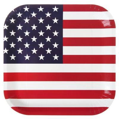 Assiette Amérique: USA (x10) REF/4792