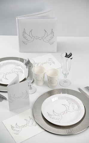 Assiette colombes 2