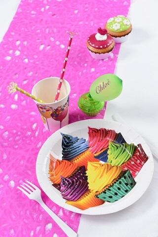 Assiette cupcake