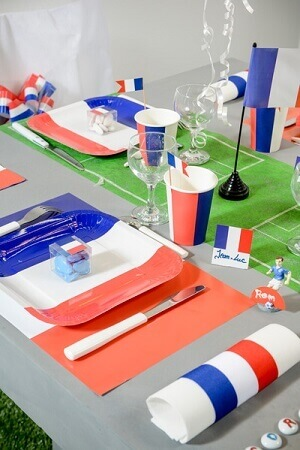 Assiette france tricolore 1