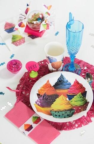 Assiette gourmandise cupcake