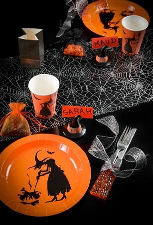 Assiette halloween sorciere 2