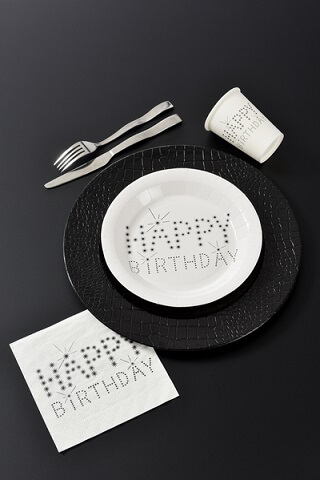 Assiette happy birthday 2