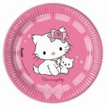 Assiette Charmy Kitty (x10)