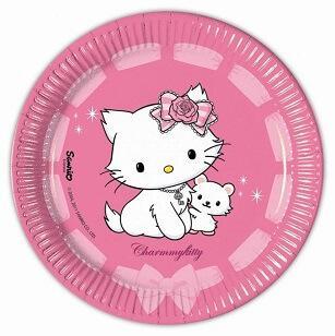 Assiette Charmy Kitty (x10)