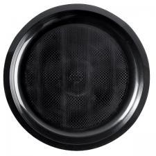Assiette incassable plate et ronde noire 22cm