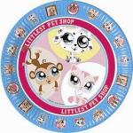 Assiette Little Petshop (x8)