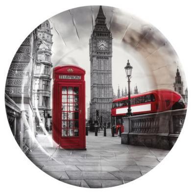 Assiette Angleterre: Londres (x10) REF/6246