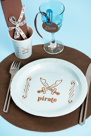 Assiette pirate 4