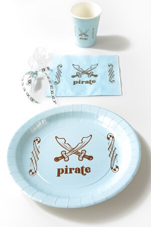 Assiette pirate 5