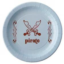 Assiette pirate (x6) REF/3947